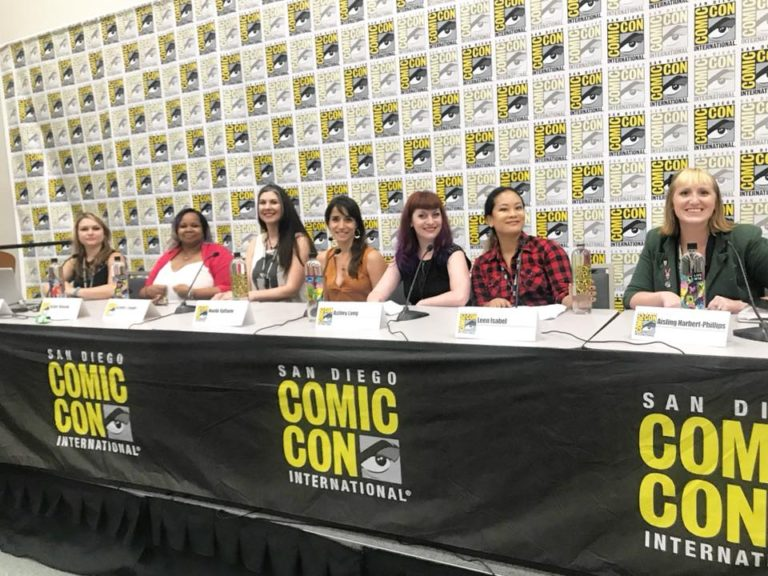 Our Industry Panel at SDCC 2018