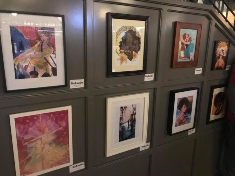 Art Gallery at the BellMarker Brewery for SDCC 2018