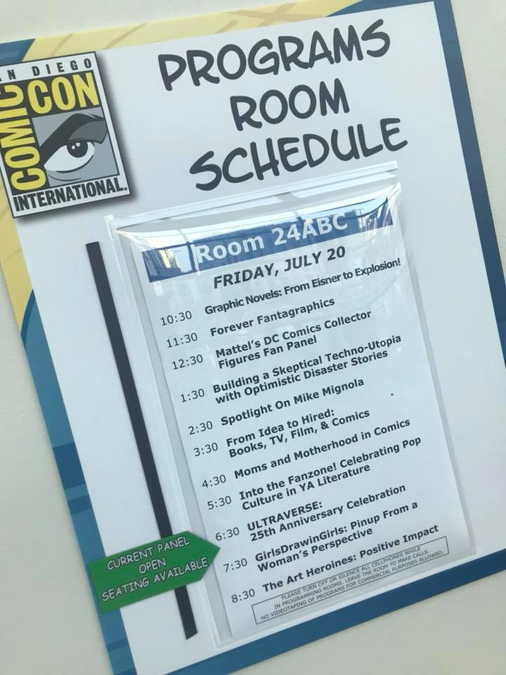 Our Panel at SDCC 2018