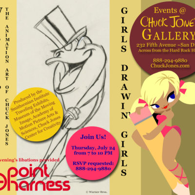 GDG and 6 Point Harness Party at Chuck Jones Gallery